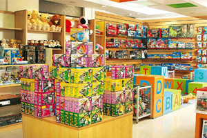 write a paragraph on toy shop