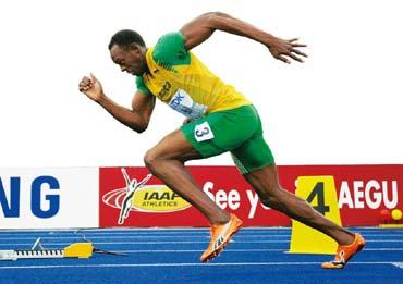Usain bolt olympic games 100m final