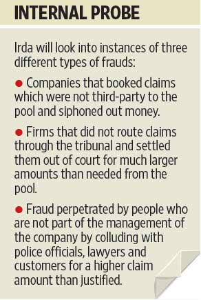 Suspicious Third Party Motor Claims Under Irda Scrutiny