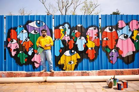 Art out on the streets Livemint
