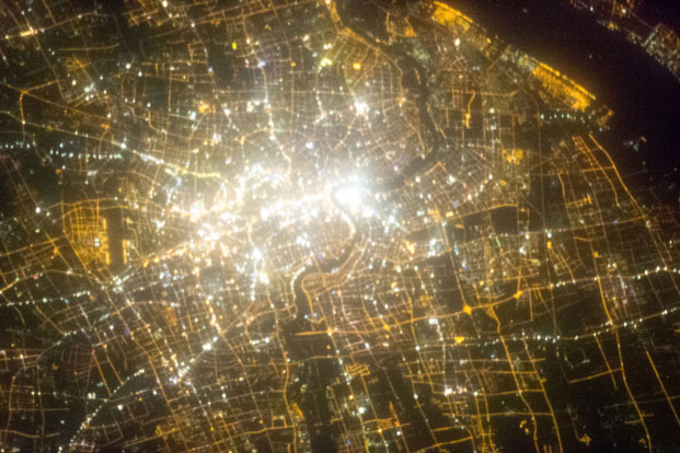 Space Photos Map Global Light Pollution Livemint