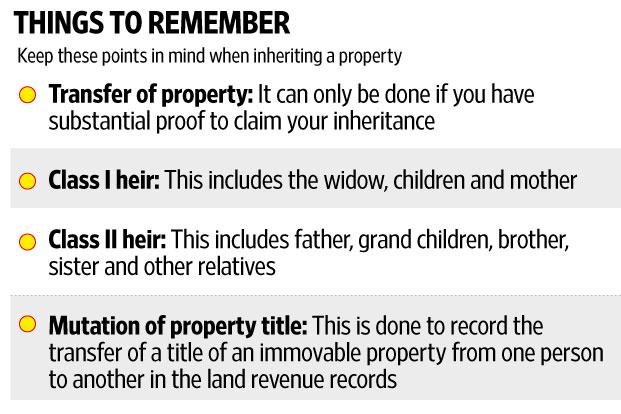 3 Steps To Take When You Inherit A Property Livemint