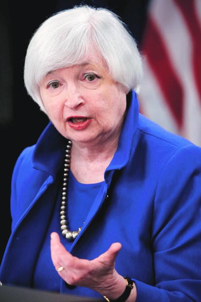Janet Yellen. Photo: Reuters