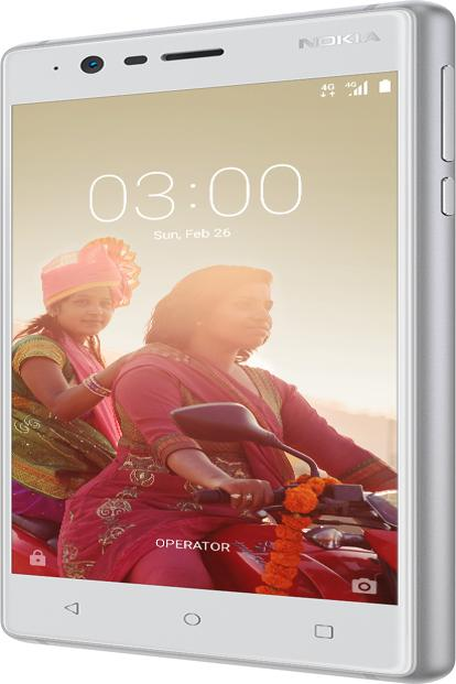 The Nokia 3 will also start shipping in Q2, with a price tag of $147.