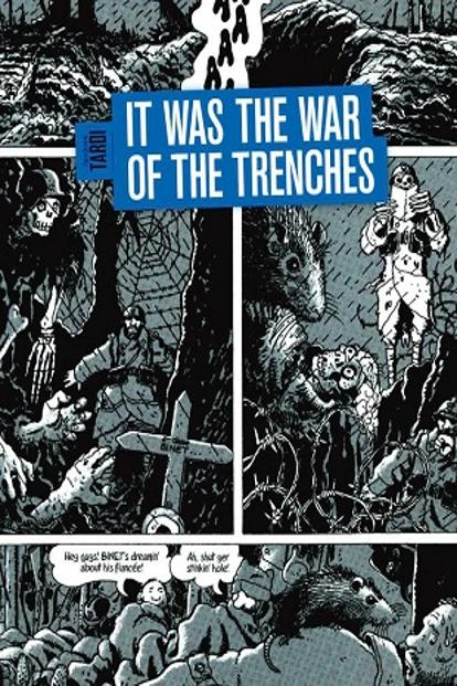 Cover of 'It Was The War Of The Trenches'.