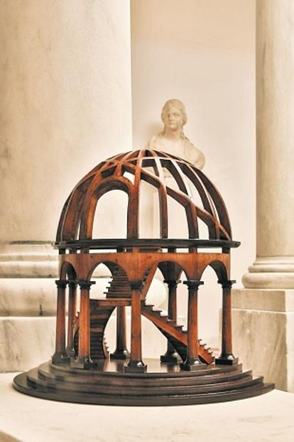Miniature model of the Vatican dome