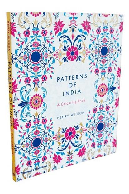 Patterns Of India, A Colouring Book: By Roli