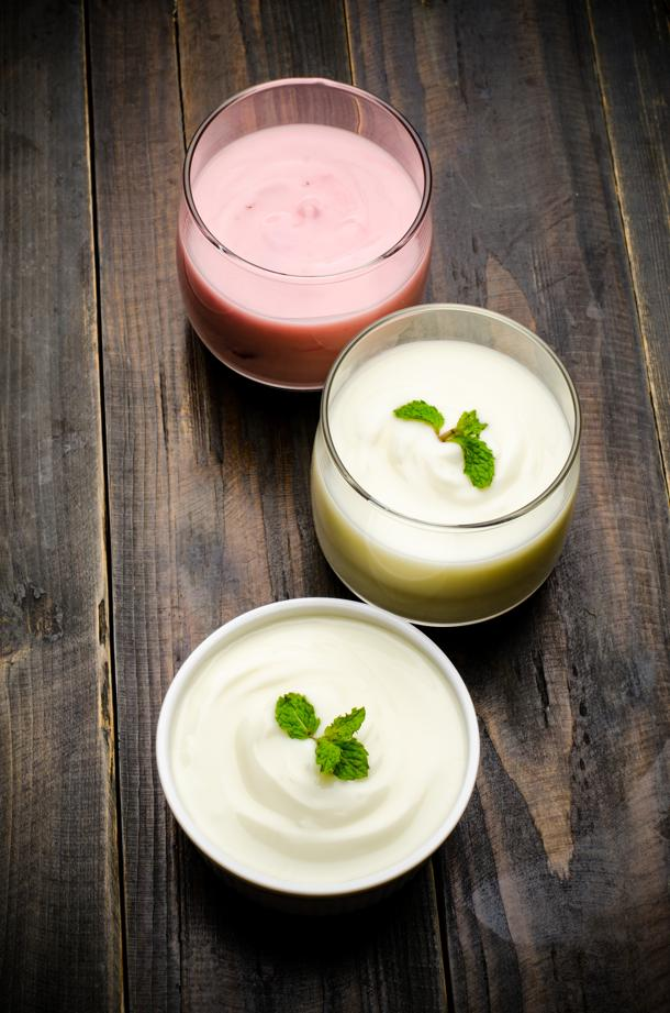 Yoghurt with probiotics is good for gut health. Photo: iStockphoto