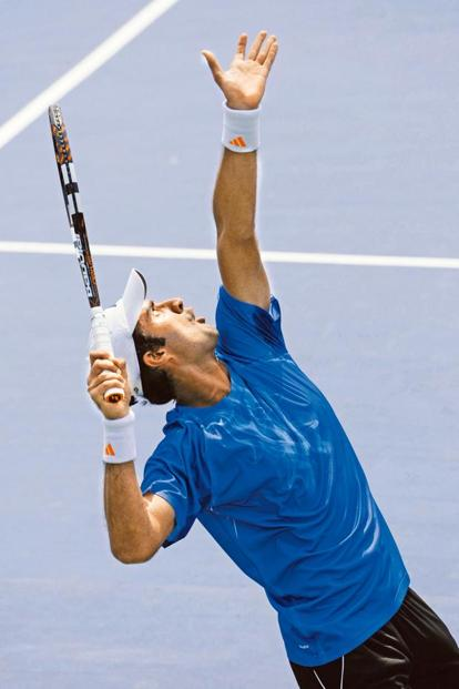 Yuki Bhambri will be India's second singles player in the Davis Cup tie against Canada. Photo: Hindustan Times