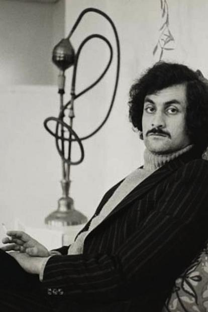 Salman Rushdie during his copywriter days.