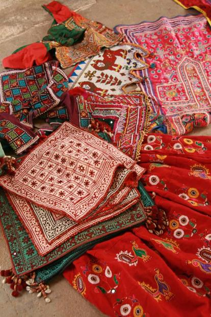 Some of the region's handicrafts.