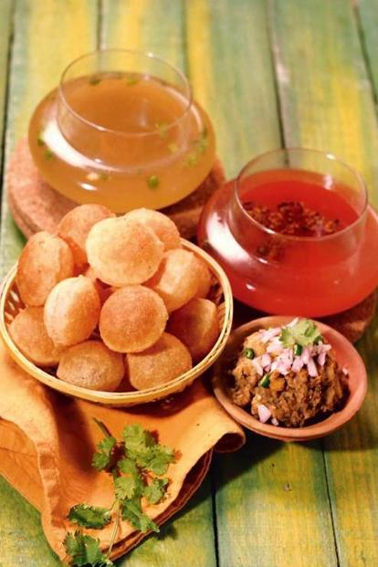 Pankaj Bhadouria's 'pani puri' masala, which is derived from Lucknow's version of this street snack.