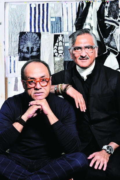 Rakesh Thakore (right) and David Abraham. Photo: Priyanka Parashar/Mint