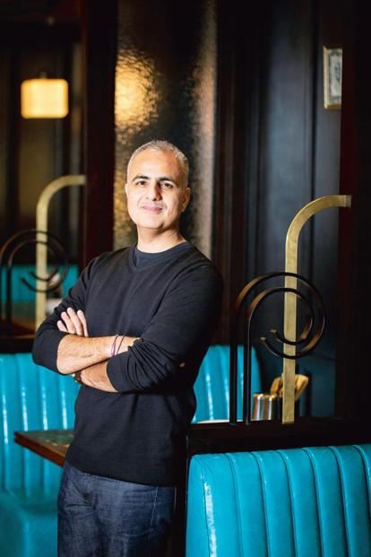 Dishoom Kensington co-founder Shamil Thakrar.