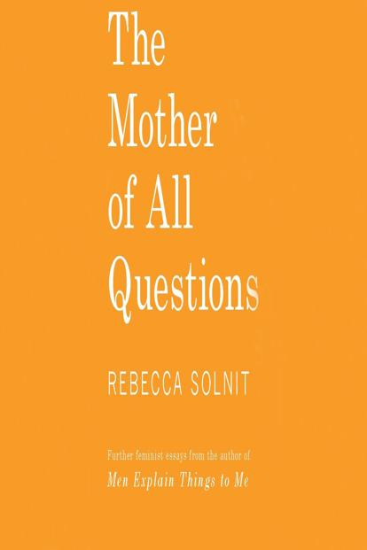 Solnit can't be credited with coining the word 'mansplaining', but her 2014 book.