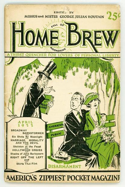 The April 1922 issue of 'Home Brew'.