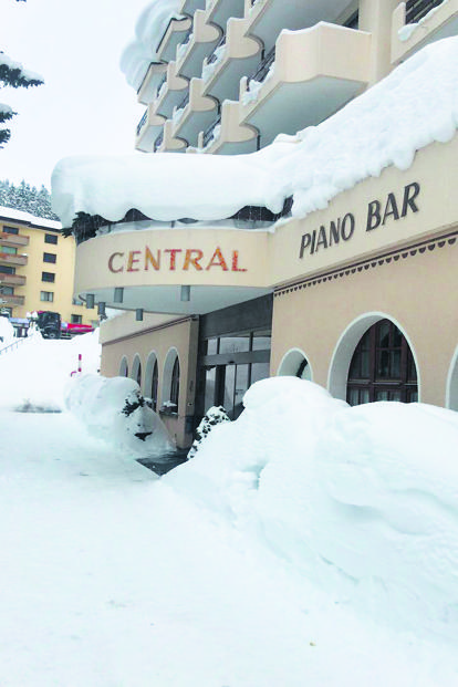 The Piano Bar in Davos.