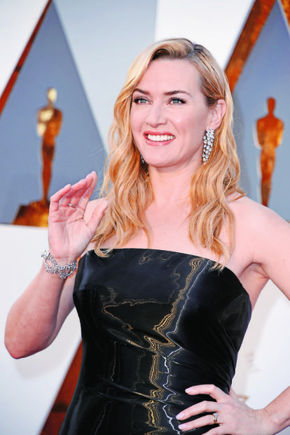Nirav Modi's clients include Hollywood star Kate Winslet, who wore diamond creations by the jewellery designer for her red-carpet walk at the 2016 Oscars. Photo: Steve Granitz/WireImage