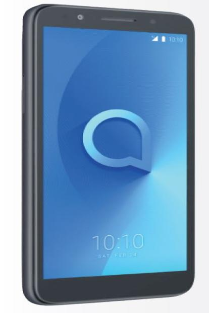 The Alcatel 1X is an affordable Android Oreo (Go Edition) phone, priced at around €100.