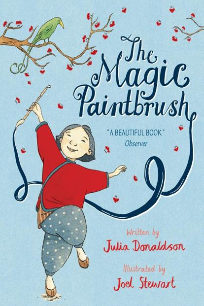 The cover of 'The Magic Paintbrush'.