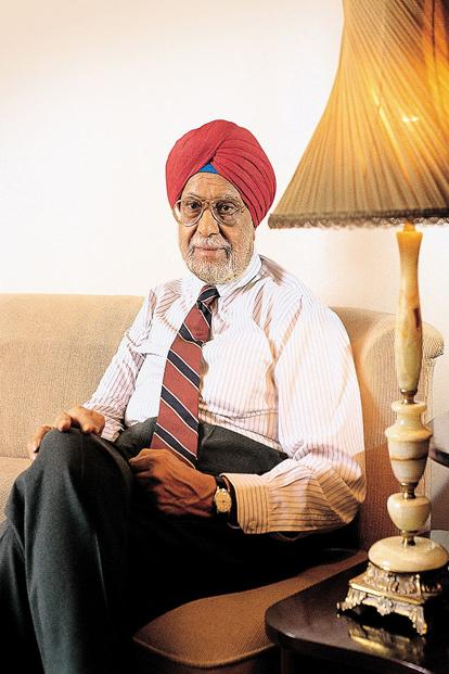 Under Bhai Mohan Singh, Ranbaxy launched its first blockbuster drug, Calmpose, in 1961. Photo: India Today Group
