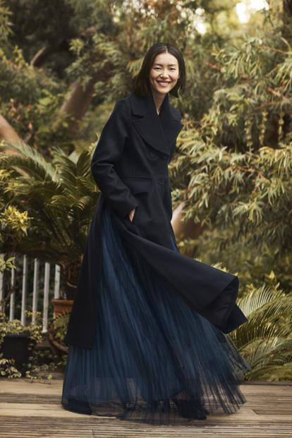 H&M's Conscious Exclusive Fall/Winter 2018 line includes recycled cashmere and velvet made from recycled polyester.