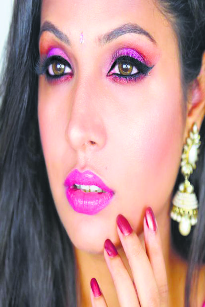 Shruti Arjun Anand focuses on fashion, lifestyle and beauty, has 2.4 million followers on her YouTube channel.
