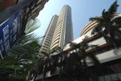 Sensex hits one-week low, falls 112 points