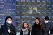 Asian stocks drop on China PMI; Nikkei climbs to 2007 high