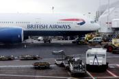 BA plane makes Heathrow emergency landing after engine fire
