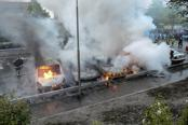 Sixth night of Stockholm riots as Britain, US issue warnings