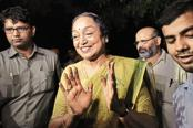 Meira Kumar is a five-time member of parliament and a former Lok Sabha speaker, and now Congress's presidential election candidate against BJP's Ram Nath Kovind. Photo: HT