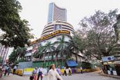 India's benchmark equity index Sensex staged a mild recovery after falling more than 400 points on Monday. Photo: Mint