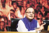 Finance minister Arun Jaitley defended the four-rate GST structure saying in a country like India, basic food items and luxury and sin goods cannot be taxed at the same rate. Photo: Ramesh Pathania/Mint