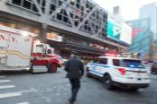 The blast was reported in midtown Manhattan at 42nd Street and 8th Avenue. Photo: ANI/Twitter