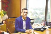 Bandhan Bank's founder and MD Chandra Shekhar Ghosh. With Bandhan Bank shares closing at Rs468.30 on BSE on Wednesday, the bank is currently valued at Rs55,859 crore by its share price. Photo: Indranil Bhoumik/Mint