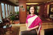 ICICI Bank CEO Chanda Kochhar. ICICI Bank share prices dropped 6% on Monday on allegations against that it disbursed loans to the Videocon group without following strict governance rules. Photo: Abhijit Bhatlekar/Mint