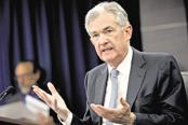 US Federal Reserve chairman Jerome Powell. Photo: Bloomberg