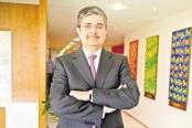 Uday Kotak, chairman of the newly constituted IL&FS board. IL&FS's plan to raise ₹4,500 crore through a rights issue that closed on Friday have devolved. Photo: Abhijit Bhatlekar/Mint