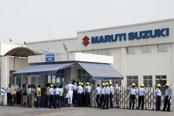Maruti Suzuki wants to move out of its oldest factory in Gurgaon amid traffic congestion and complaints from residents and civic bodies. Photo: HT