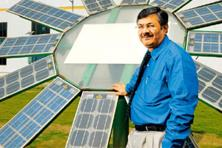 Way to go: K. Subramanya, CEO, Tata BP Solar India, says that in 25 years, solar power will be the main source of energy. Hemant Mishra / Mint