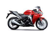 Hot wheels: The CBR250R is Honda's most powerful locally assembled bike.