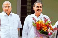 Sharad Pawar (left) and Praful Patel skipped a dinner hosted by Prime Minister
