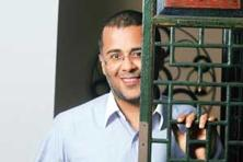 Selling the story: It remains to be seen whether Chetan Bhagat's fans care about his vision of a new India.(Abhijit Bhatlekar/Mint)
