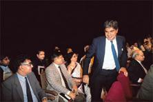 Early days: A 1992 photograph of Ratan Tata, a year after he took over as chairman of Tata Sons. India Today