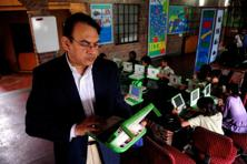 President and CEO of One Laptop per Child India, Satish Jha.
