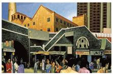 Patwardhan's Lower Parel (2001). Photo courtesy: Sudhir Patwardhan