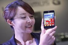 Optimus G will go on sale next week in South Korea, and later in Japan, US. Photo: Reuters