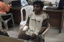 Convicted terrorist Mohammed Ajmal Kasab, the lone surviving member of the 10-man group which went on a killing spree in Mumbai on Nov 26, 2008, seen here under police custody in this undated video grab by CNN IBN. Reuters/CNN IBN