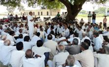 A file photo of a panchayat being held at Dadri, Uttar Pradesh. Photo: HT